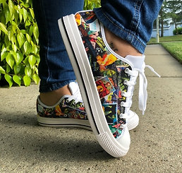 Cult Classics Canvas Lace Up Shoes