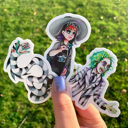 Beetlejuice Stickers