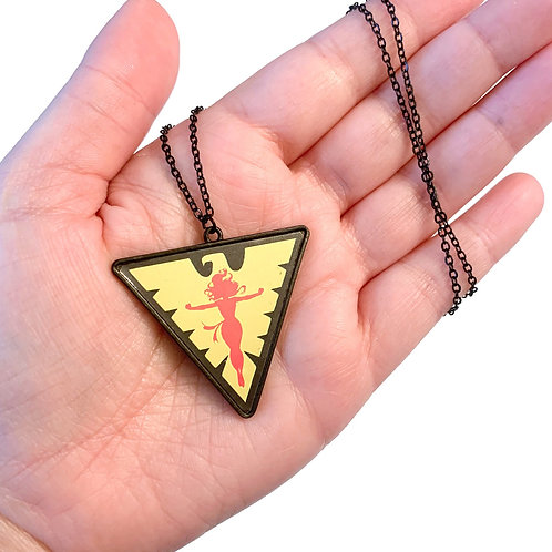 Dark Phoenix Necklace
