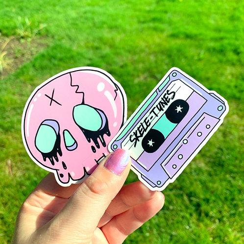 Pastel Goth Stickers