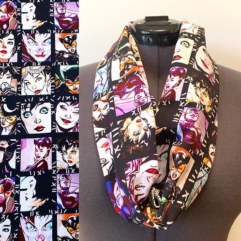 Catwoman Scarf