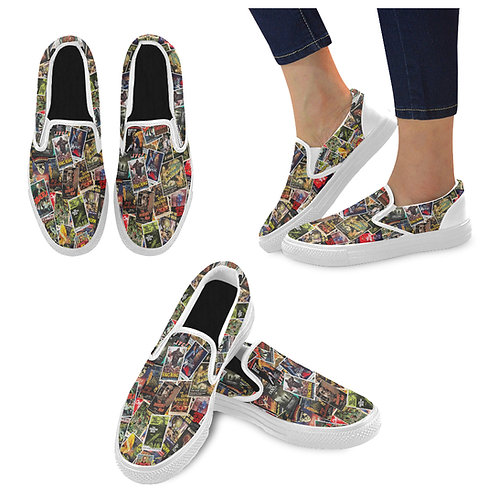 Cult Classic Canvas Slip On Shoes