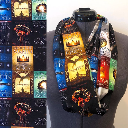 Game of Thrones Book Cover Scarf
