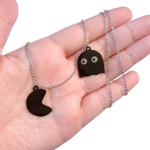 Pac-Man Necklace