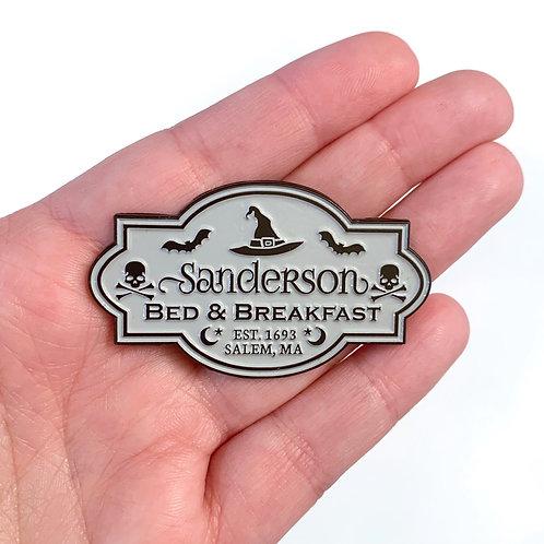 Sanderson B&B Pin (Grey)