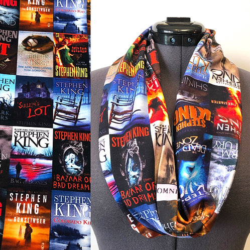 Stephen King Book Cover Scarf (New Version)