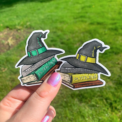 HP House Stickers