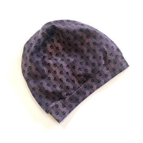 Stripes Skull Slouchy Hat