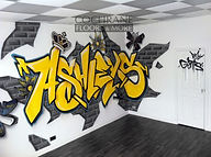Cochrane Floors Graphitti Mural