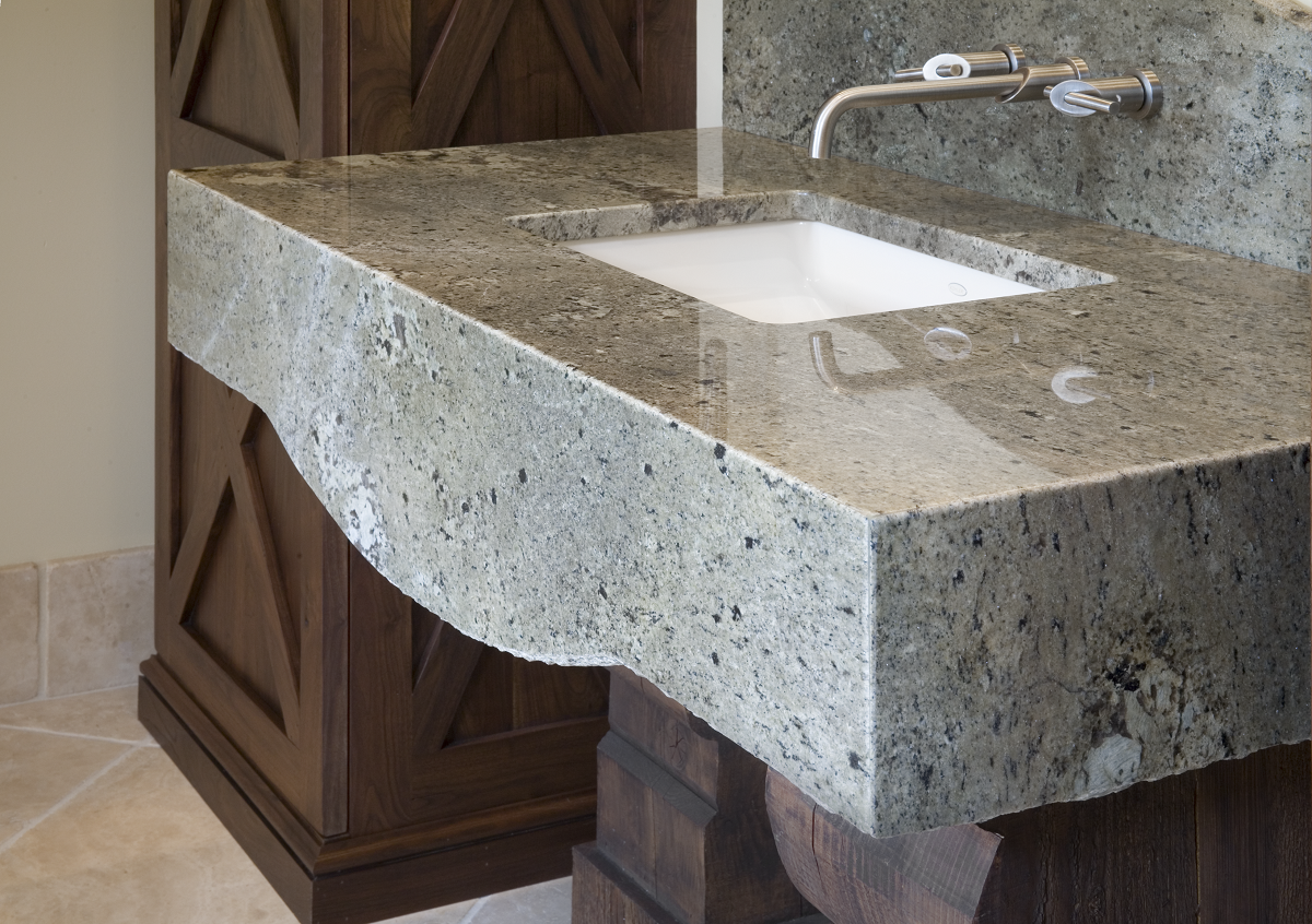 Mitered Edge Granite