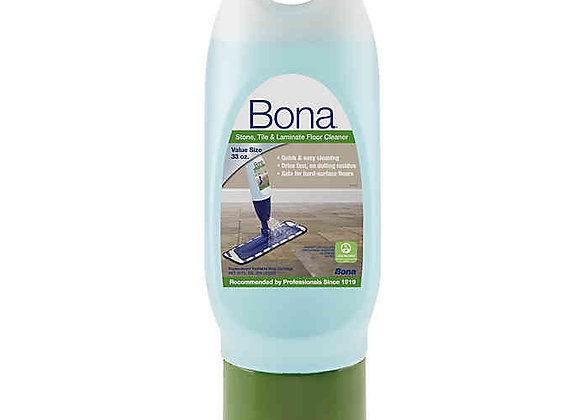 Bona Professional Tile & Laminate Cleaner - Spray Mop Cartridge