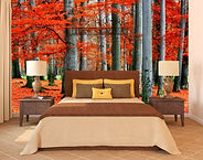 Cochrane Floors Autumn Slumber Mural