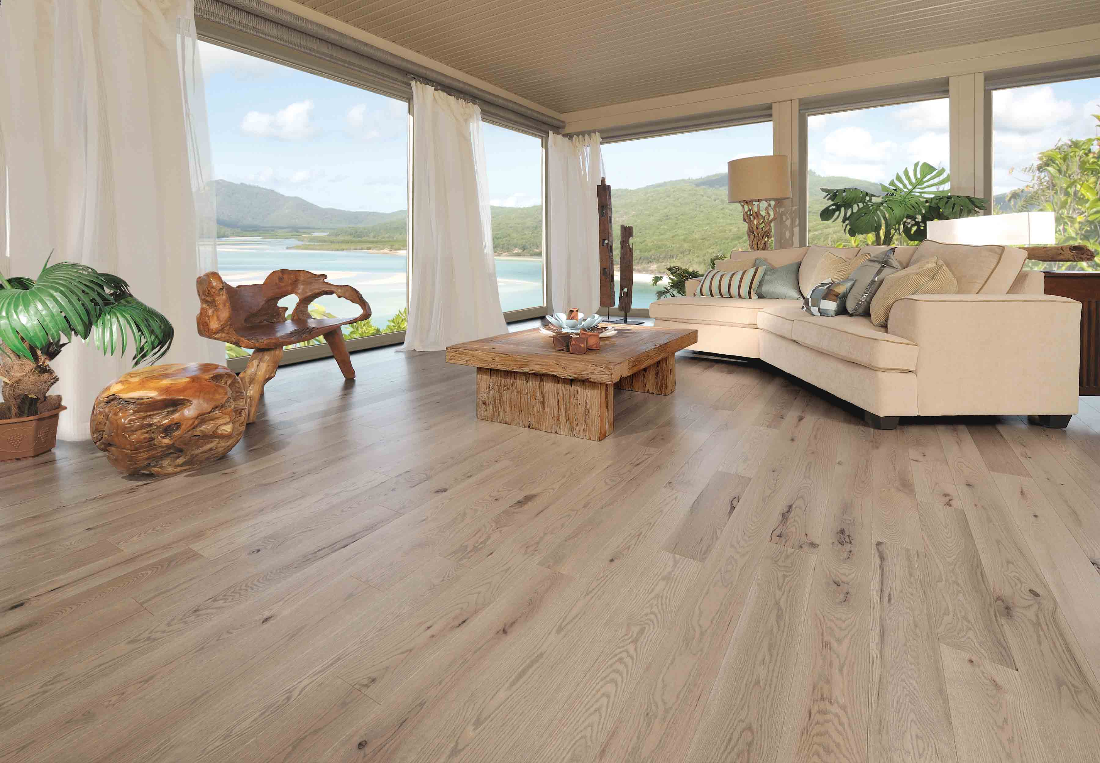 Cochrane Floors - Chateau White Oak