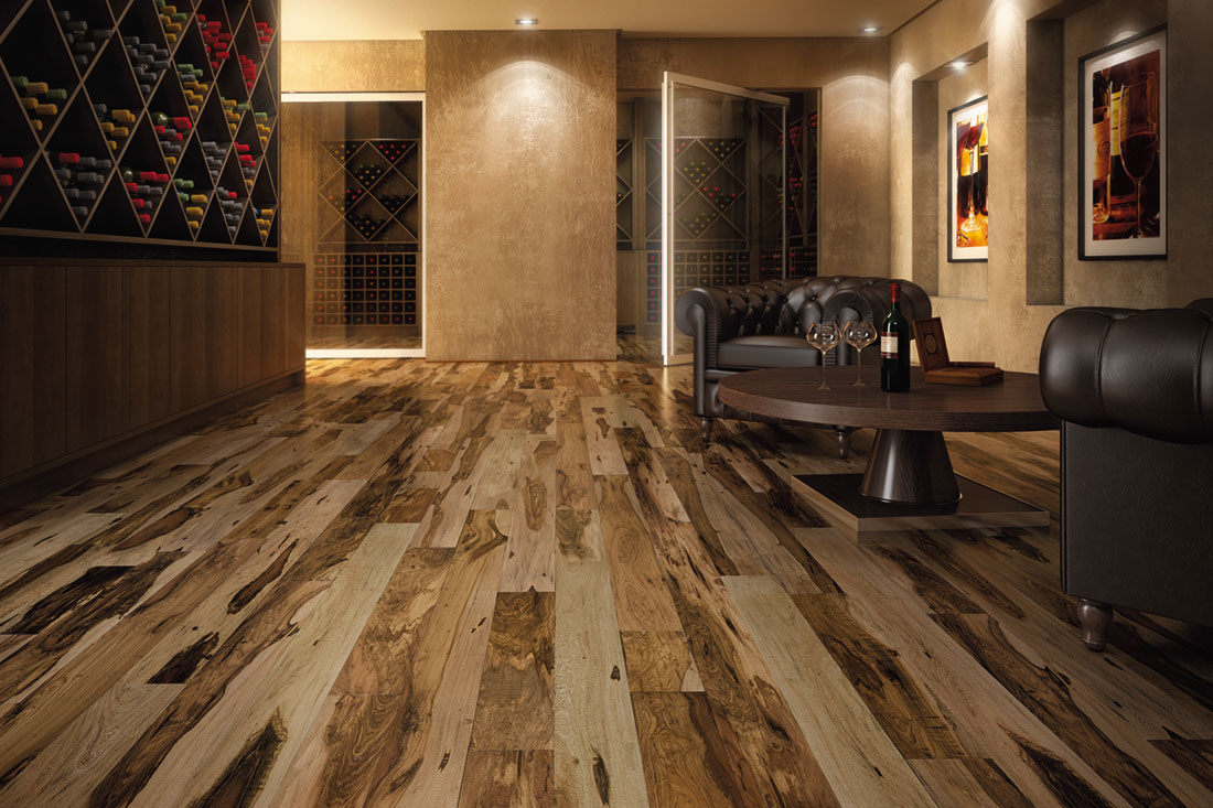 Cochrane Floors - Wide Plank Pecan
