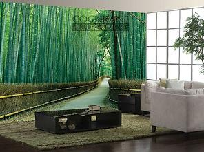Cochrane Floors Bamboo Garden Mural