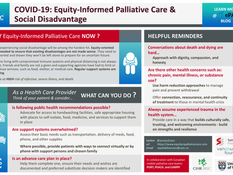 COVID-19: Equity-Informed Palliative Care & Social Disadvantage
