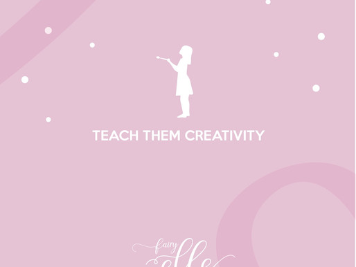 Teach children creativity