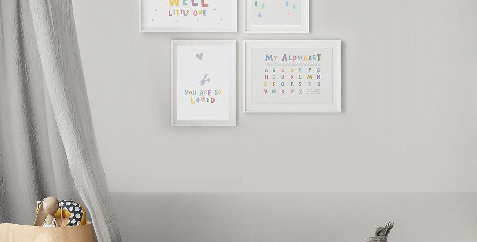 A4 Reversible Prints x 4