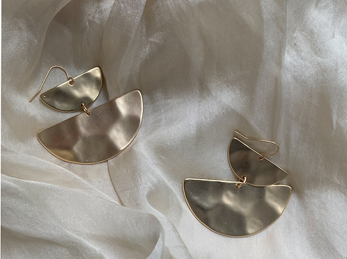 Mia Hammered Statement Earrings