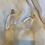 Thumbnail: QUINN Acrylic Marble Arch Earring
