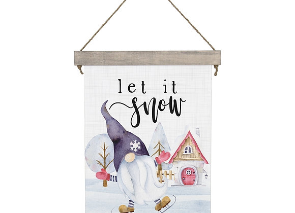 Let Is Snow- Sign