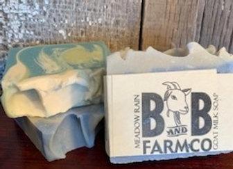 Meadow Rain Goat Milk Soap