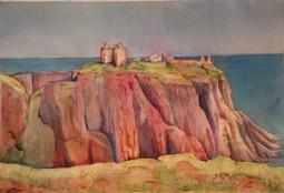 """Dunatoar Castle"" 22x28"