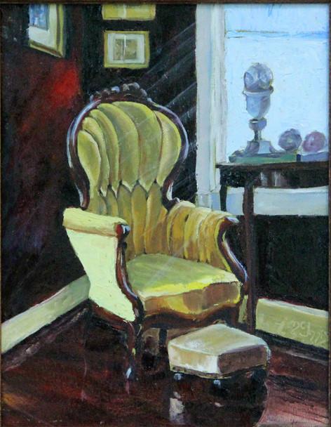 """Victorian Corner"" 11x14 oil on canvas"