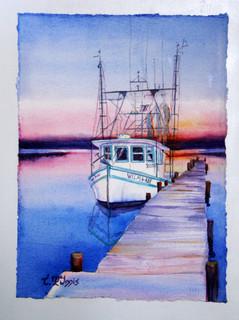 """Wilma Rea"" 14x18"" Watercolor on paper."