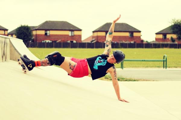 kippax skatepark, England