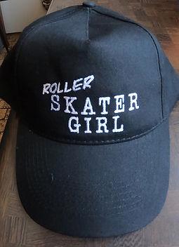 Baseball Cap RollerSkaterGirl #8