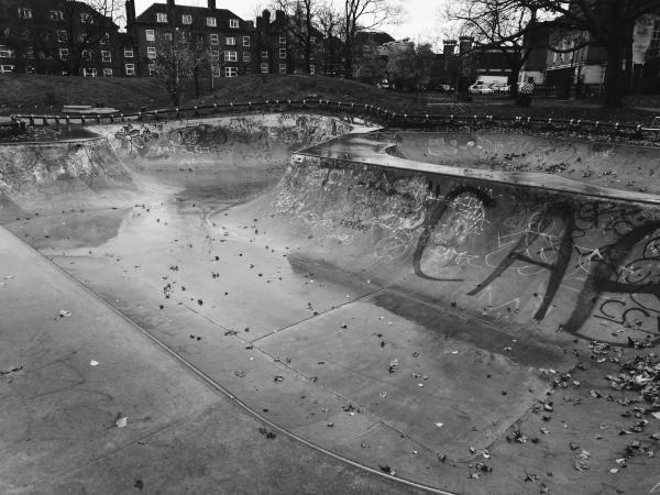 Clissold Skatepark,north east London