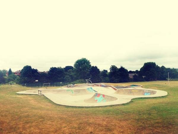 micklefield skatepark, England
