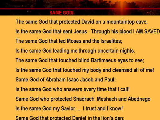 The Same God