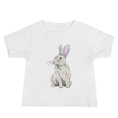 Rabbit Baby Jersey Short Sleeve Tee
