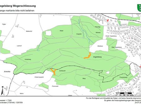 Geschützte Trails auf dem Vogelsberg bitte nicht befahren!