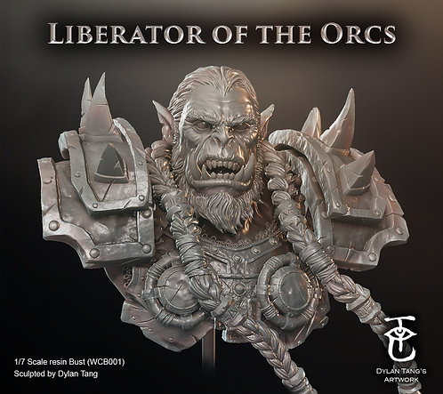 Liberator of the Orcs bust