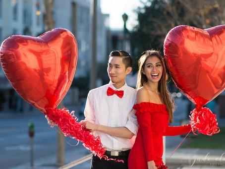 Valentine's Themed Photoshoot: Breena & Can