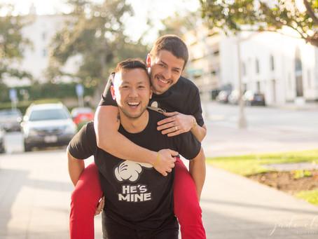 Pasadena Same-Sex Couple Shoot: Victor & Nelson