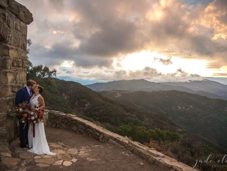 Wonder Woman–Themed Elopement in Santa Barbara