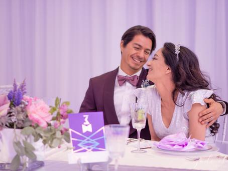 Sparkly Holographic Wedding Inspiration