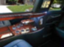 cadillac xts stretch limo bar