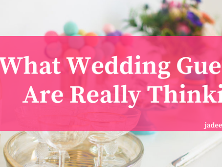 Wedding Guest Survey Results! : What Guests Actually Care About