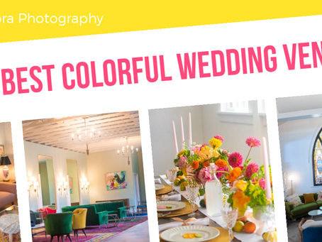 The Best Colorful Wedding Venues in Los Angeles