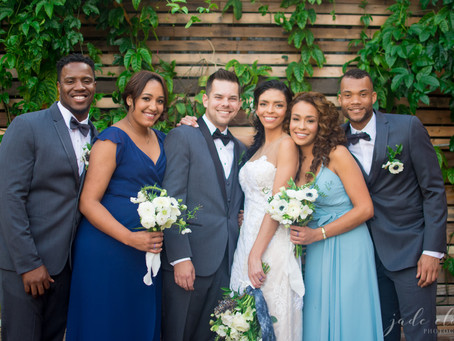 Phases of the Moon Celestial Wedding Inspiration: Laura & Ethan