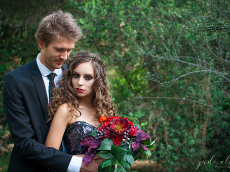 Gothic Halloween Wedding Inspiration
