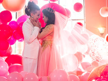 Glinda the Good Witch Same-Sex Wedding Inspiration