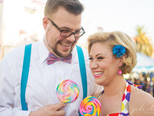 Vintage-Inspired County Fair Engagement Photos