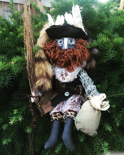 Der Belsnickel with Old English Yew
