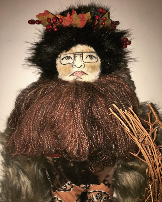 This special request custom Belsnickel d